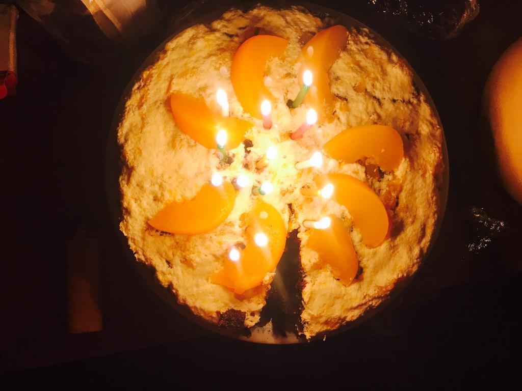 Beneath the Borealis Trifecta 12-18-17 birthday cake