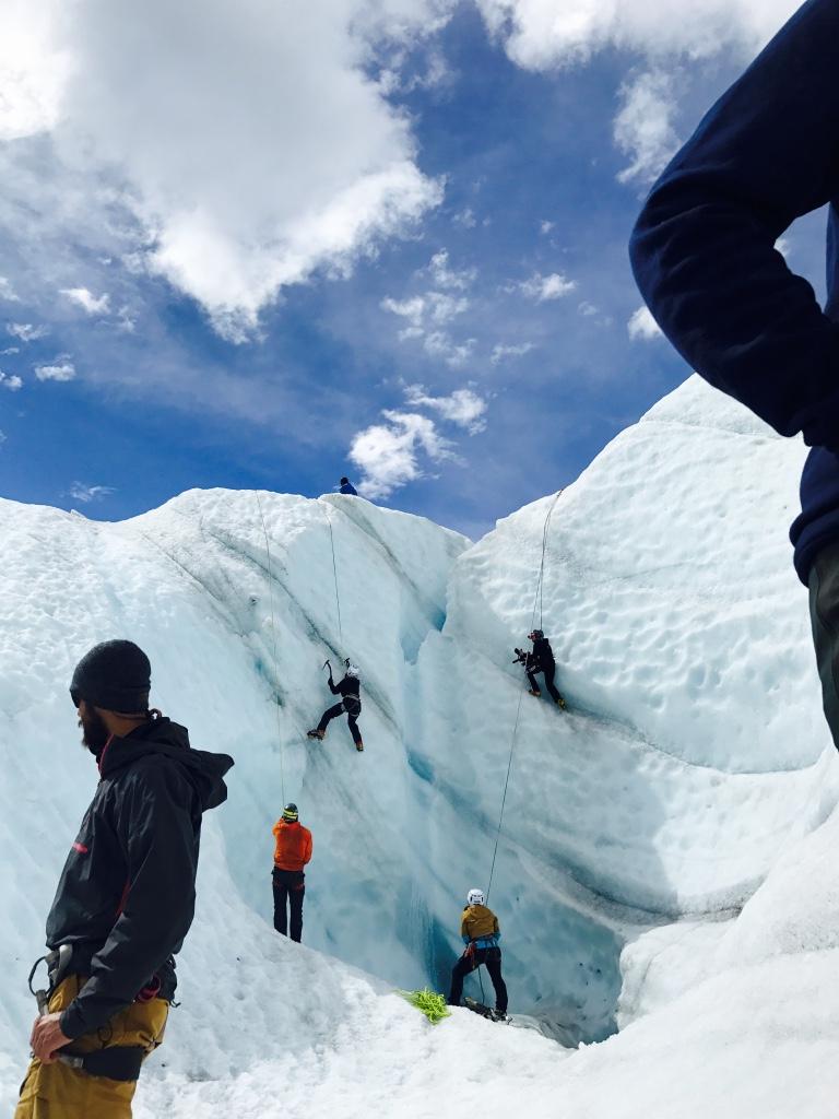 Beneath the Borealis Trifecta 12-18-17 Kennicott, Alaska Root Glacier