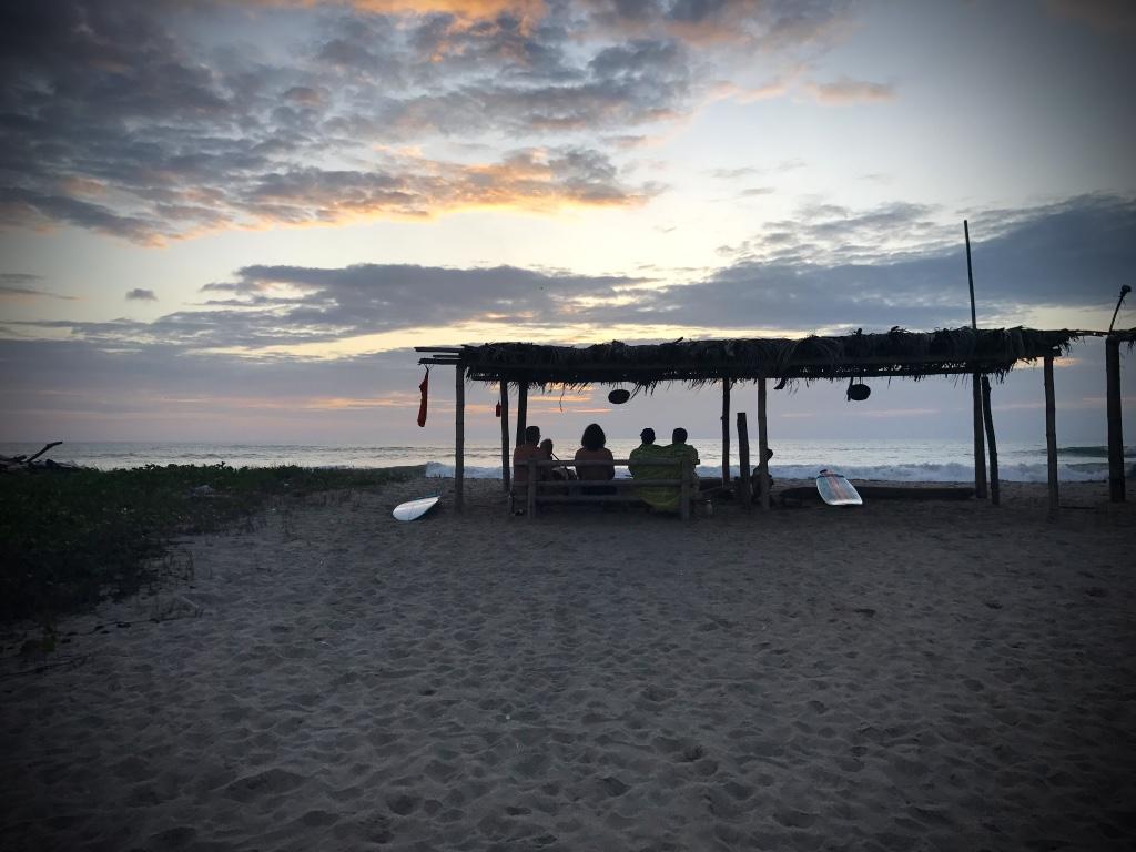 Beneath the Borealis February 9th 2018 A Reason A Season or A Lifetime The Core in Canoa Ecuador Manabi
