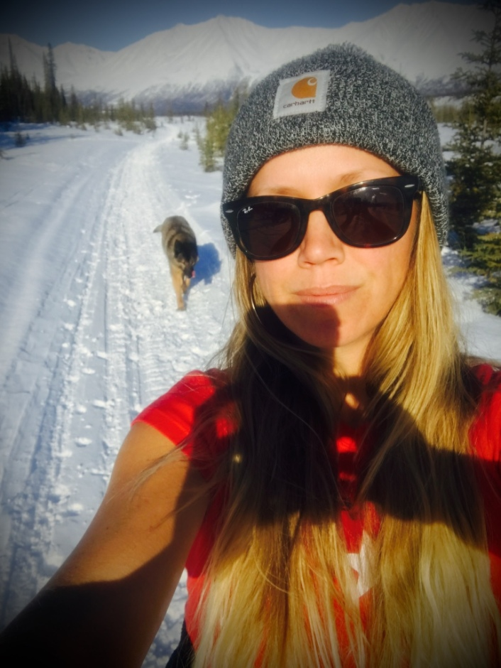 Beneath the Borealis Alaska Spring Cleaning Spring Fever 3-26-18 Cross Country Skiing Julia Page.jpg