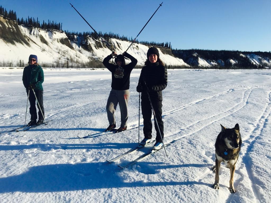 Beneath the Borealis Alaska Spring Cleaning Spring Fever 3-26-18 Cross Country Skiing Women.jpg