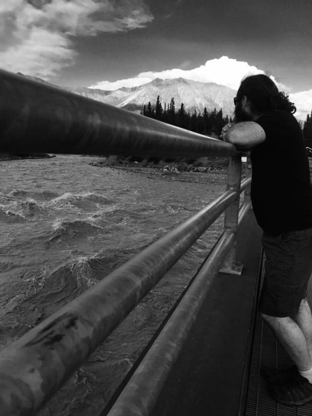 Beneath the Borealis Swimming Kennicott River