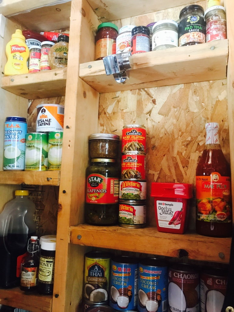 Beneath the Borealis - Do the Hustle - 2:11:19 - Tiny House Alaska Pantry Organization