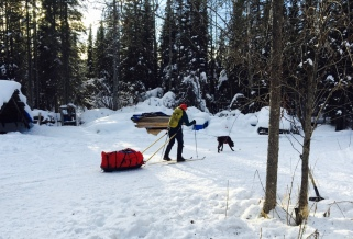 Beneath the Borealis In Celebration of Women Winter Camping in Alaska