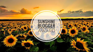 The Sunshine Blogger Award 2019
