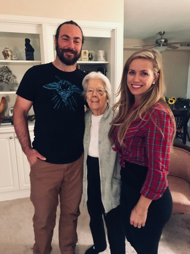 Beneath the Borealis 7-8-19, Six Funerals and a Wedding, Grandma Jeanne and us