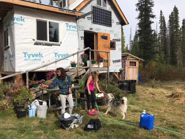 Beneath the Borealis, A Wedding in Six Acts, Off-Grid Living