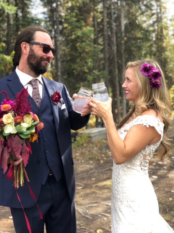 Beneath the Borealis, A Wedding in Six Acts, 10:28:19, Cheers, Love