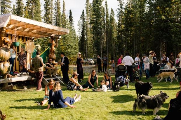 McCarthy Alaska Wedding