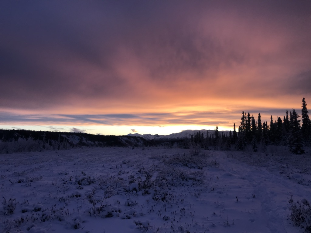 Beneath the Borealis, What's in a Name? December 30th, 2019, Sunset in Alaska