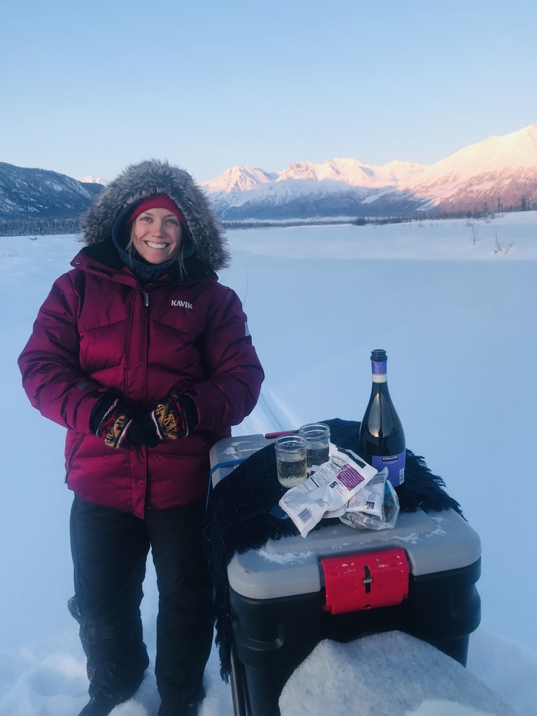 Beneath the Borealis, 40 Below (Alone), January 27th, 2020, 25 Below Zero in Alaska with Champagne
