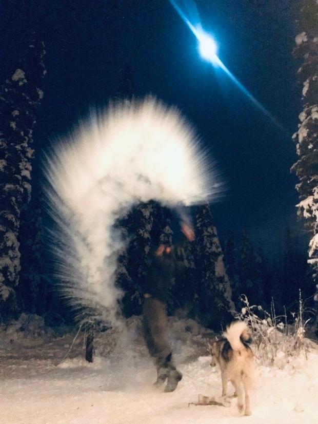 Beneath the Borealis, 40 Below (Alone), January 27th, 2020, 50 Below Zero in Alaska