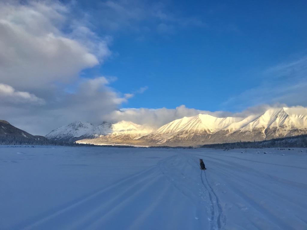 Beneath the Borealis Post Cabin Fever 02:24:20 Kennicott River in Winter