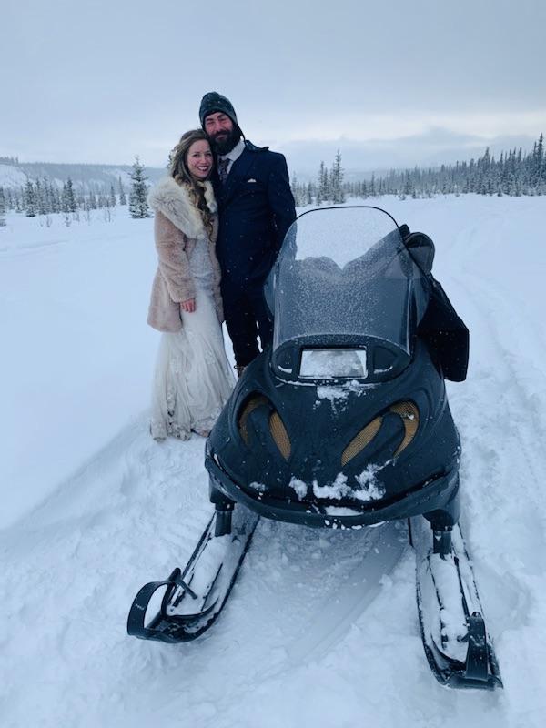 Beneath the Borealis, 03:09:20, The Sweetness of Saturdays, Snowmachine Chariot Alaskan Wedding