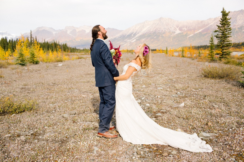 Wedding in Alaska