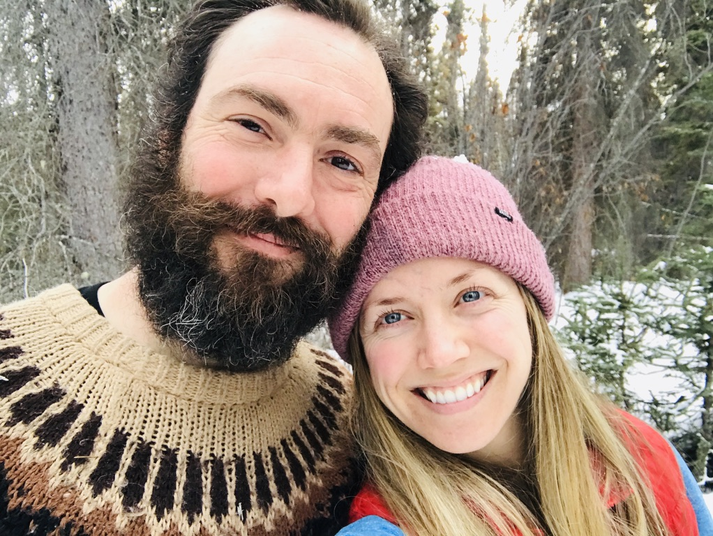 Alaskan couple