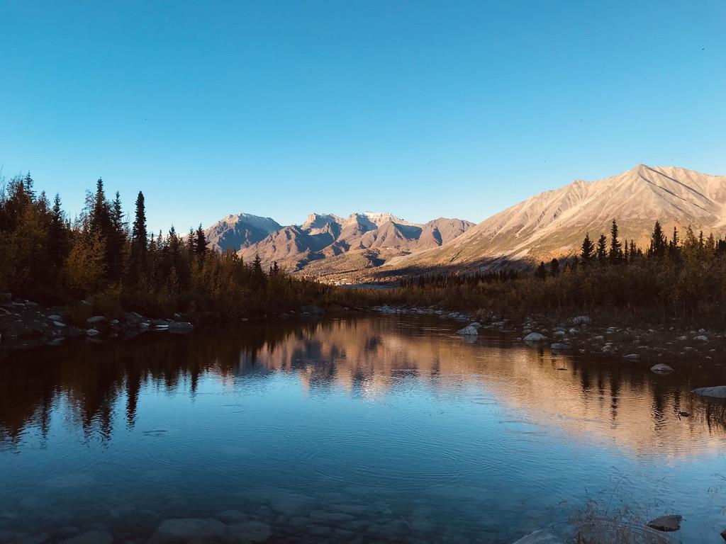 Fall in McCarthy, AK