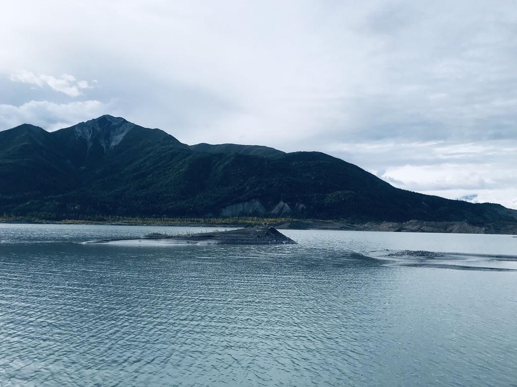 Toe of the Glacier, Alaska