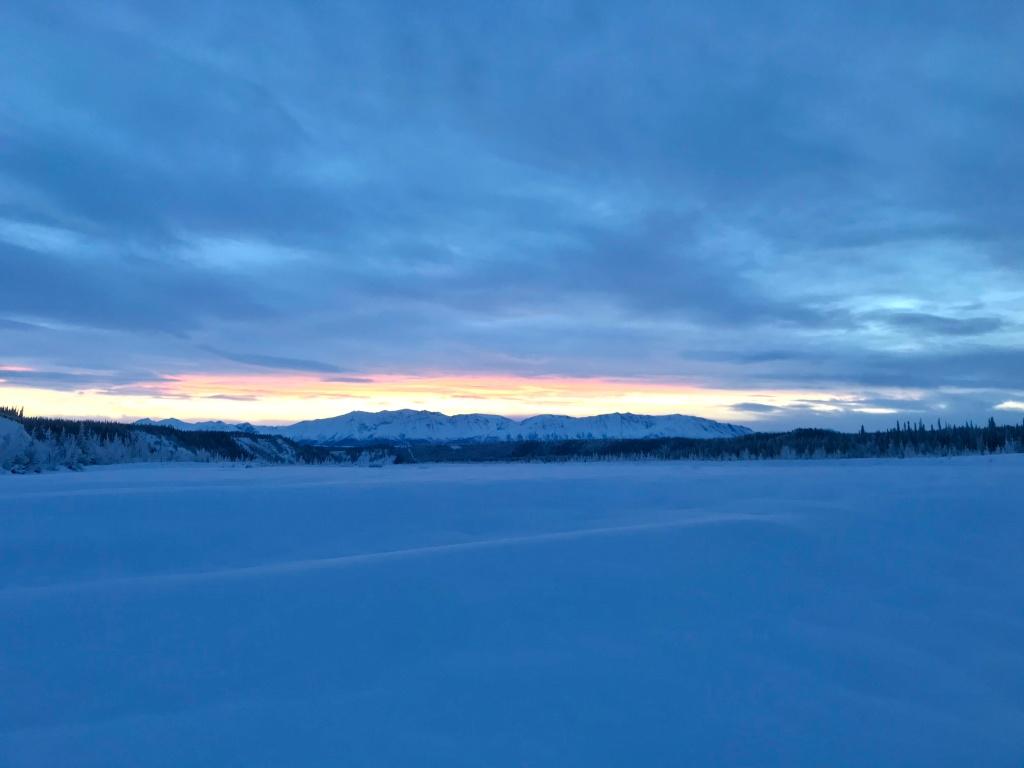 living in the alaskan wilderness